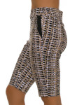 EP Pro NY Women's Gold Standard Tribal Print Pull On Golf Shorts-2