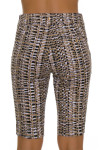 EP Pro NY Women's Gold Standard Tribal Print Pull On Golf Shorts-5