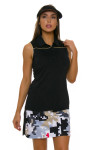 EP Pro NY Women's Gold Standard Abstract Puzzle Pull On Golf Skort-3