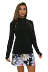 EP Pro NY Women's Gold Standard Abstract Puzzle Pull On Golf Skort-4