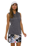 EP Pro NY Women's Gold Standard Abstract Puzzle Pull On Golf Skort-1b