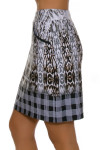 EP Pro NY Women's Gold Standard Abstract Animal Plaid Skort-2