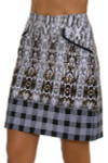 EP Pro NY Women's Gold Standard Abstract Animal Plaid Skort-4