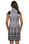 EPNY Women's Sleeveless Golf Standard Golf Dress back