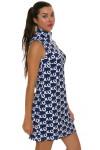 Melly M Coco Navy Delray Dress -3