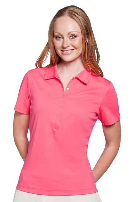 Tropicana Liquid Cotton® Snap Placket Polo