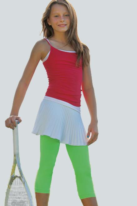 Kids Seamless Performance Crop Legging