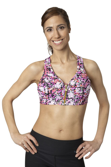 Body Rock Sophie Zip Up Bra