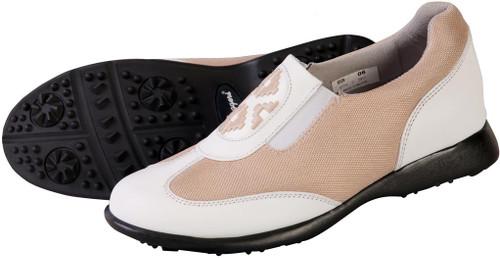 Bali Mesh Tan Women's Golf Shoe SB-BALITAN Image 3
