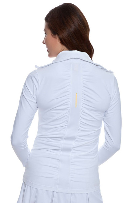 Lole Essential White Zip Up Jacket