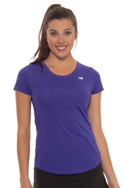 New Balance Women's Bayside Accelerate Tennis Shirt