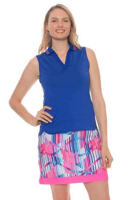 EP Pro Women's Sugar Rush Linear Swirl Print Golf Skort