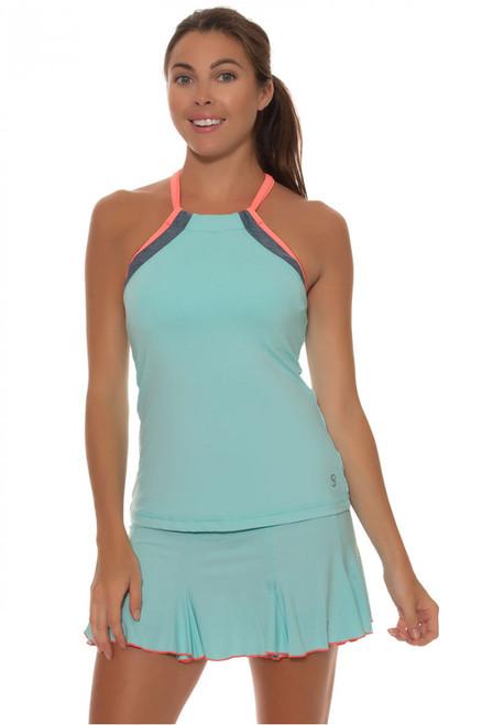 Sofibella Fiji Aqua tennis Skirt - image 1