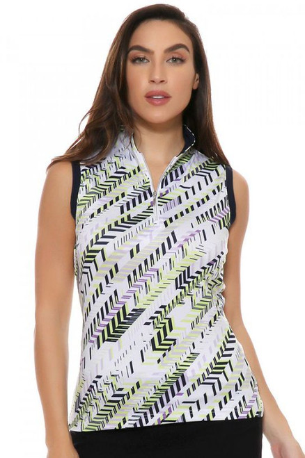 GGBlue Sadie Sleeveless Golf Shirt