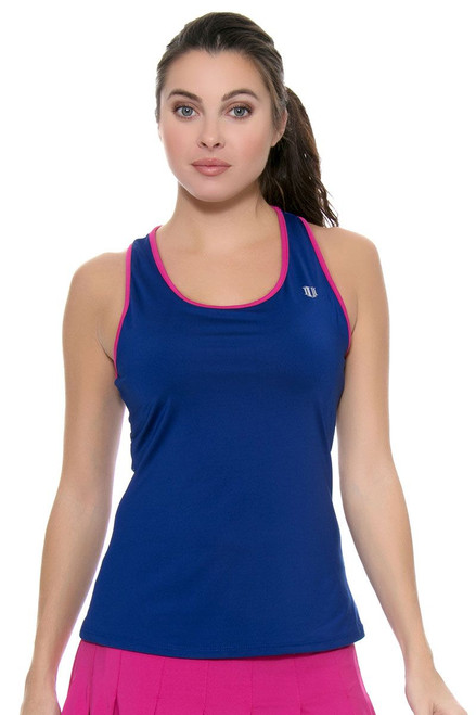 Elevate Performance Mazarine Tennis Tank E-CP325C-420 Image 4