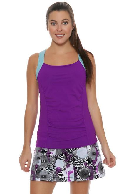 Printed Pleat Tennis Skirt