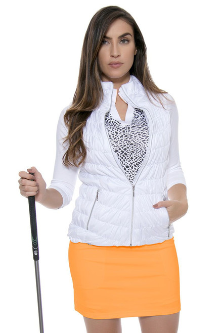 Jofit Women's Sonoma Sport Mina Tangerine Pull On Golf Skort