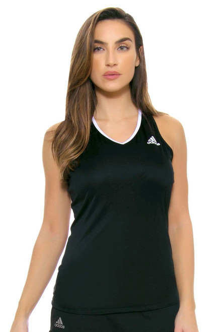 Black Club Tennis Tank Top