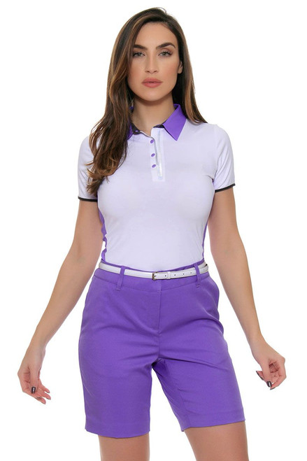 Annika Women's City Luxe Purple Sage Golf Short