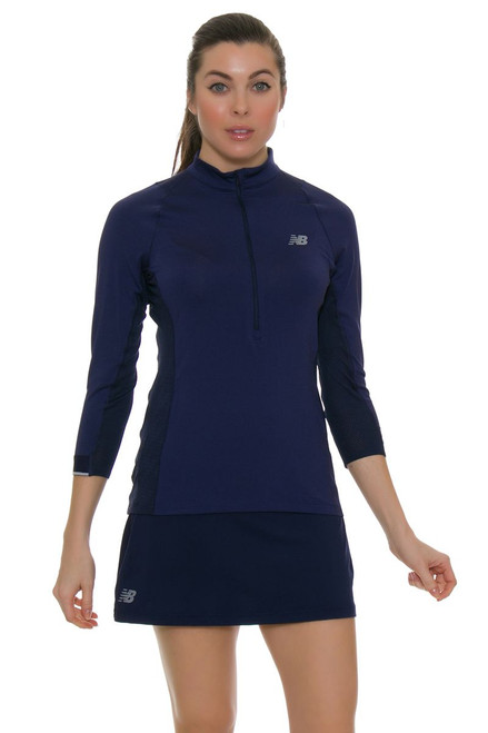New Balance Navy Casino Tennis Skirt