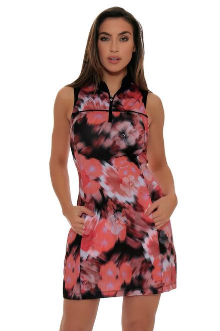EP Sport Women's ES-Mahalo Oahu Blurred Floral Dress