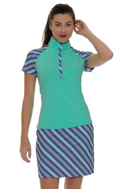 Fairway and Green Shore Line Raleigh Golf Skort