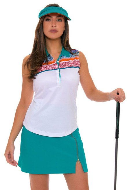 EP Pro Women's Cassis Stretch Micro Twill Golf Skort