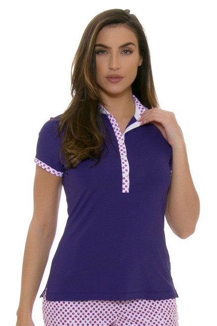Fairway and Greene Women's Spot On Layne Moonstruck Golf Short Sleeve