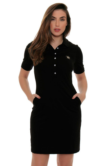 Tee 2 Sea Women's Little Black Short Sleeve Golf Dress
