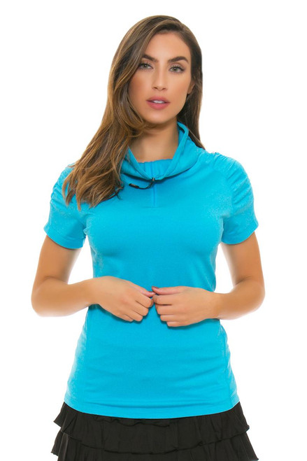 Bargray Women's Pebble Ultramarine Golf Short Sleeve | Golf or Tennis Wear