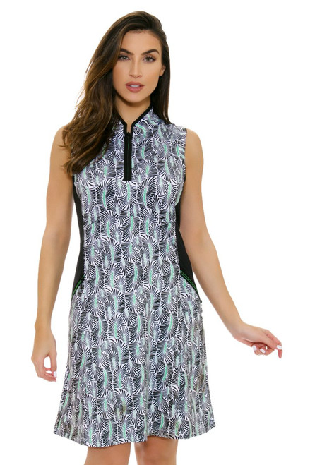 GGBlue Women's Bali Harper Rainforest Golf Dress