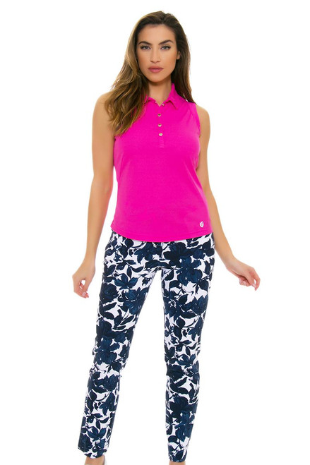 Swing Control Women's Spring Blues Masters Golf Ankle Pants
