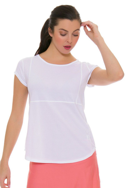 BPassionit Women's Spring Fling Full Vent Princess Tennis Cap Sleeve Shirt BP-30048 Image 1