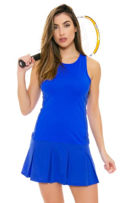 Lole Women's Spring Mae Dazzling Blue Tennis Dress LO-LSW2191-B194 Image 4