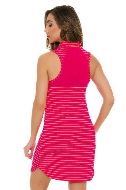 Lole Women's Spring Adisa Tropical Rose Stripe Golf Dress
