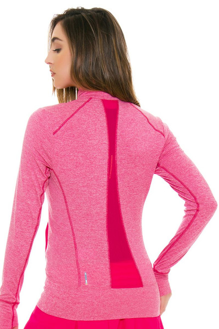 Lole Women's Spring Essential Up Rose Heather Zip Up Jacket