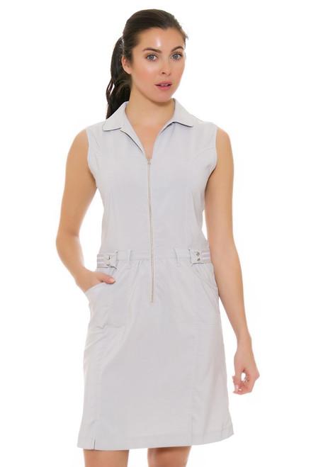 Cracked Wheat Women's Urban Chic Caelie Silver Golf Dress
