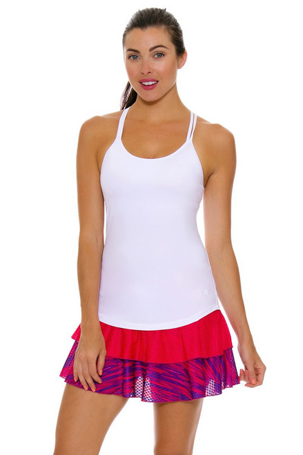 Solfire Women's Speed Peak Electric Pink Acai Tennis Skirt