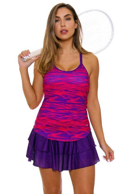 Solfire Women's Speed Peak Acai Tennis Skirt SF-F5W300-A178 Image 2