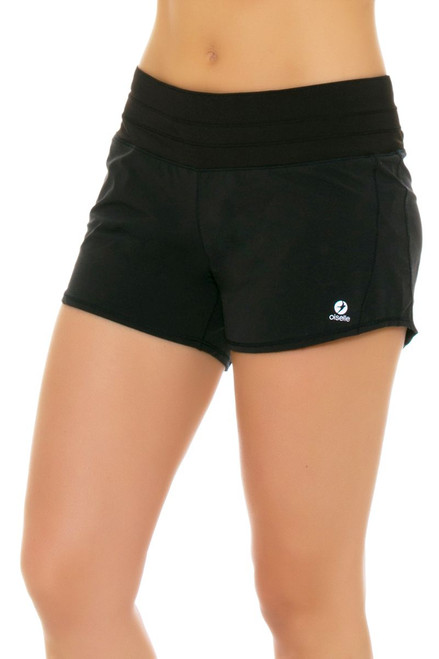 Oiselle Women's Roga Black Running Shorts OI-102711 Image 4