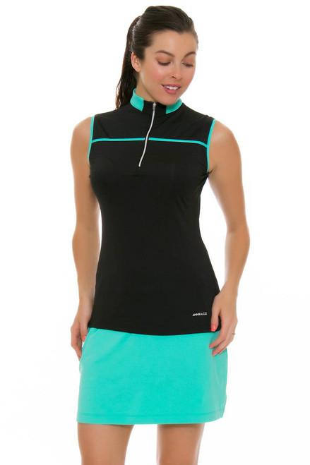 Annika Women's Glass Beach Marcail Knit Pull On Golf Skort