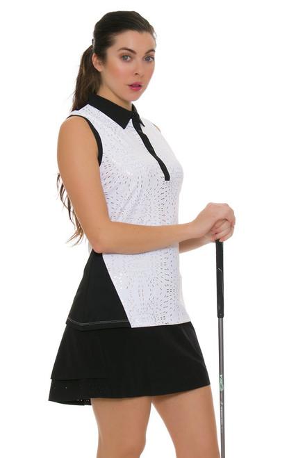 Annika Women's Black Competitor Pull On Golf Skort