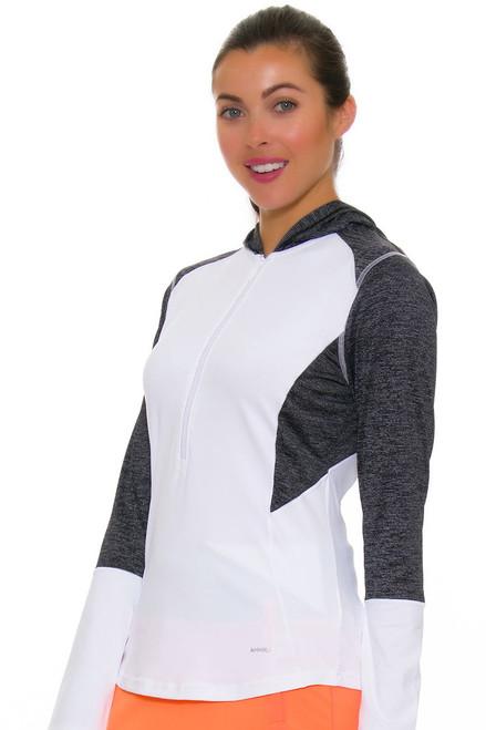 Annika Women's Digital Cristen Hooded Golf Sweater