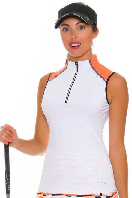 Annika Women's Digital Shay Golf Sleeveless Shirt