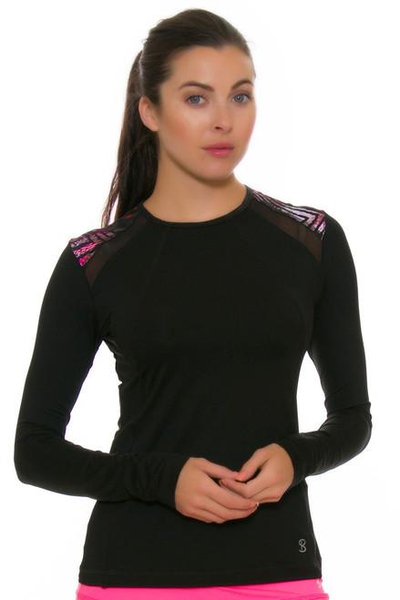 Sofibella Women's Dark Night Classic Long Sleeve SFB-1694 Image 4