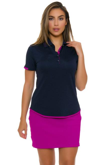 Greg Norman Women's Savannah Texture Knit Pull On Golf Skort