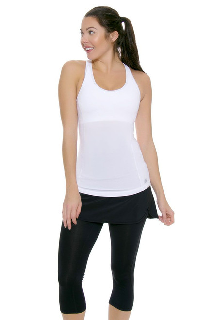 Flair 2-IN-1 Tennis Skirt Capri NB-WK53128-Black Image 6
