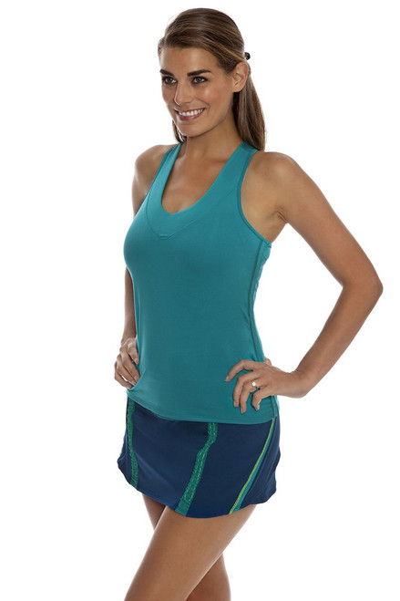 Running Rouch Indigo Tennis Skirt