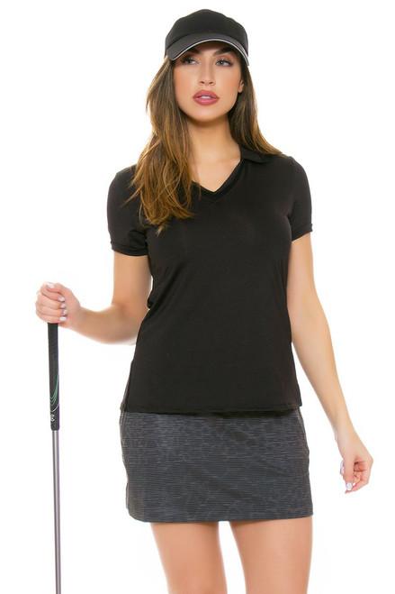 Nike Women's Printed Flight Dark Grey Golf Skort