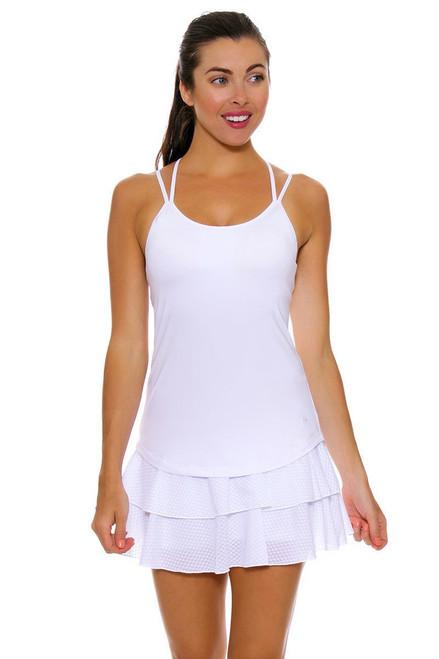 Solfire White Tennis Skirt
